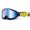 100% Strata Goggles blå